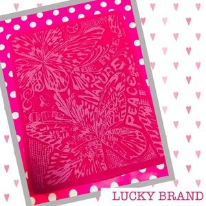 LUCKY BRAND 🍀 Hot Pink Tablet Cover